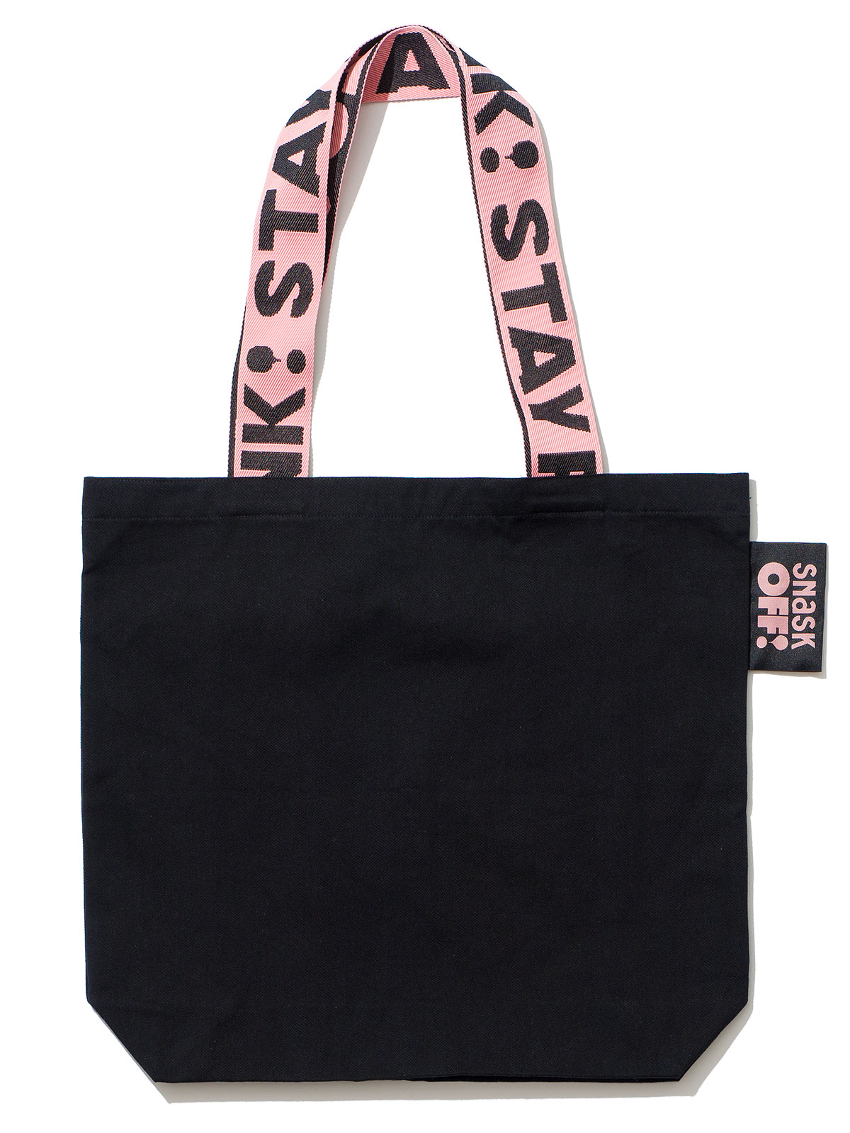 Image of Stay Pink Strap Bag Black