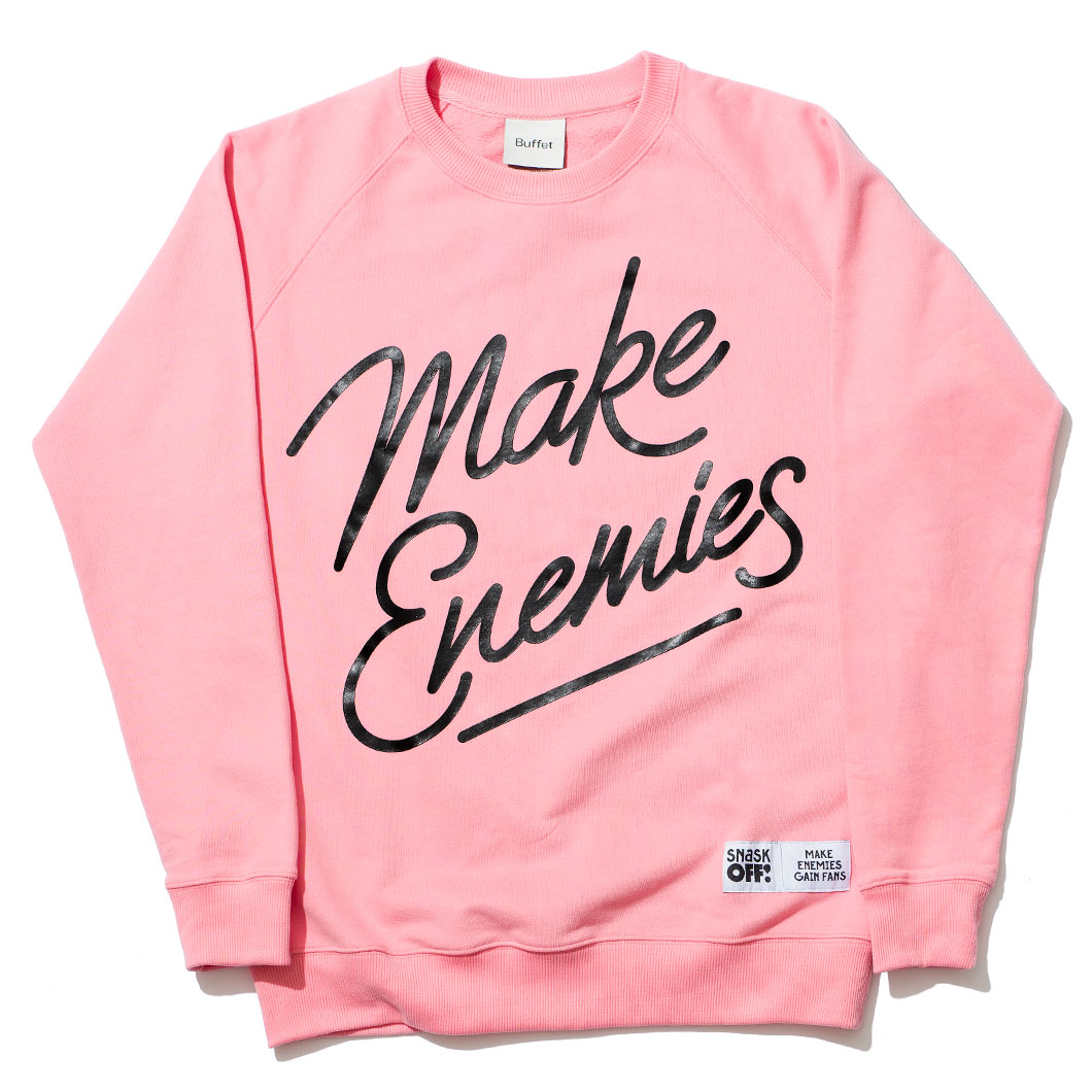 Image of Make Enemies Sweatshirt