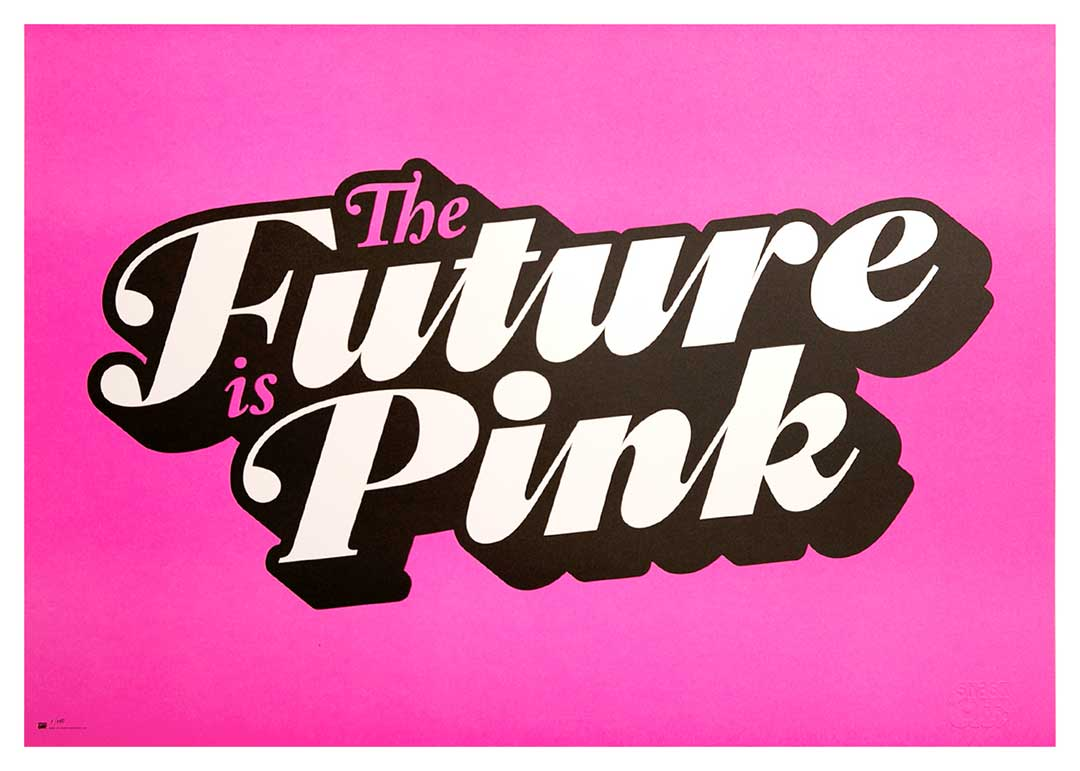 """Image of Poster: """"The Future is Pink"""""""
