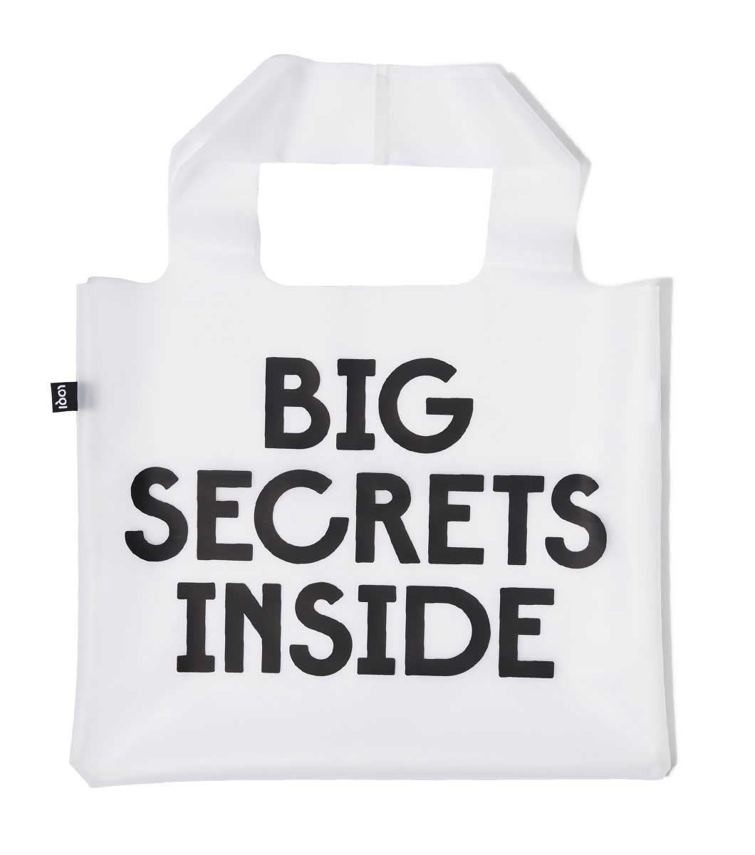 Image of Secret and Classified Transparent Bag
