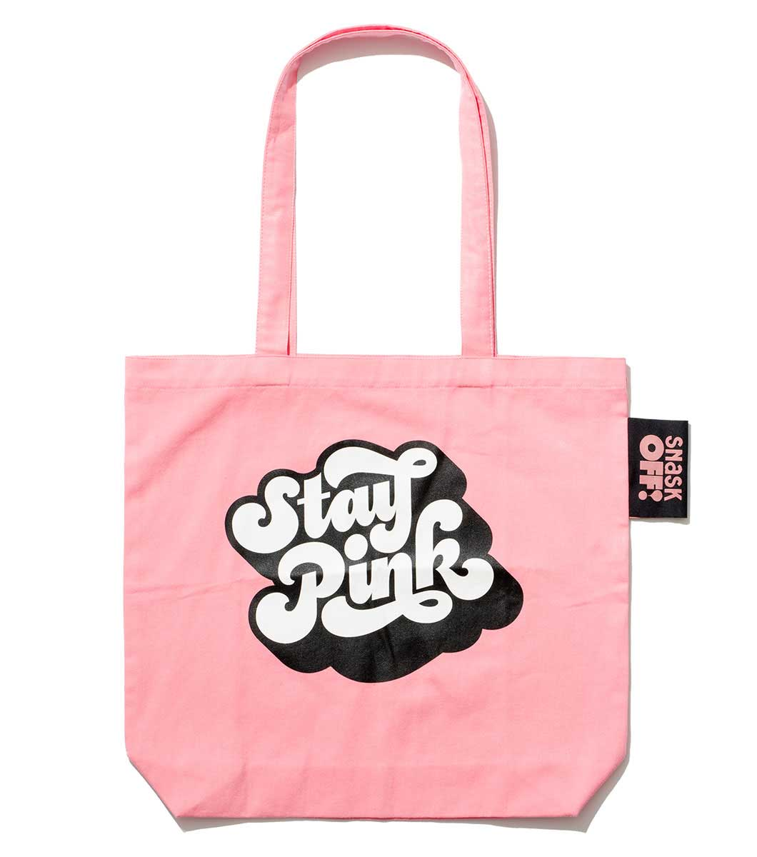 Image of Stay Pink Tote Bag